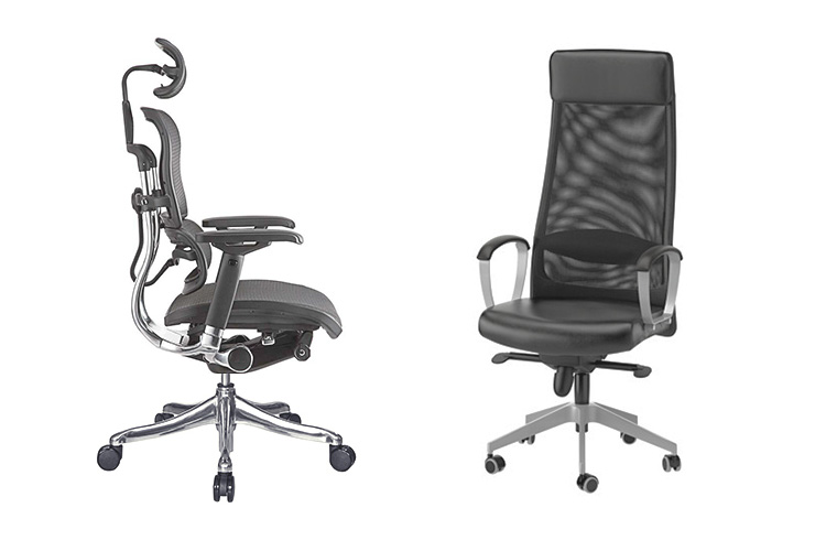 ikea office chairs australia white. Ergohuman Standard Vs Ikea Markus Office Chairs Australia White R