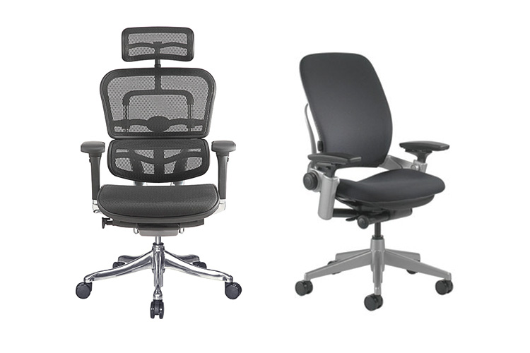 Ergohuman vs Steelcase Leap