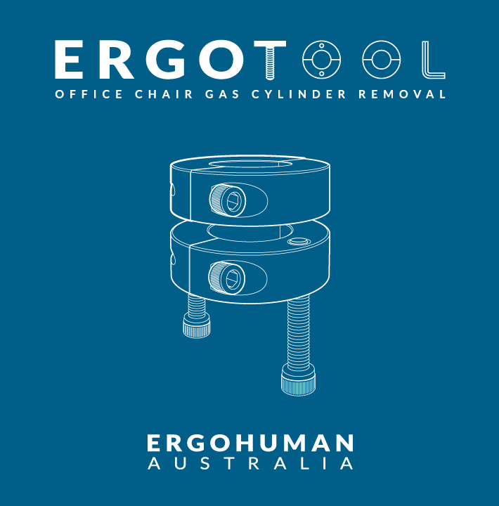 Ergotool to remove a gas cylinder