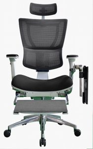 IOO High Back Boost ergonomic chair with Laptop holder by ergohuman